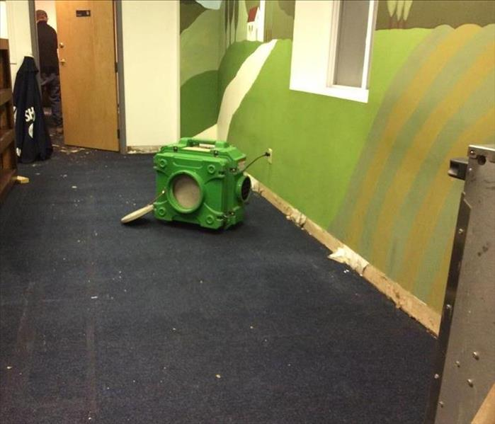 Air Mover at a Commercial Loss