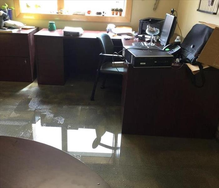 Commercial Facility Suffers Water Main Break